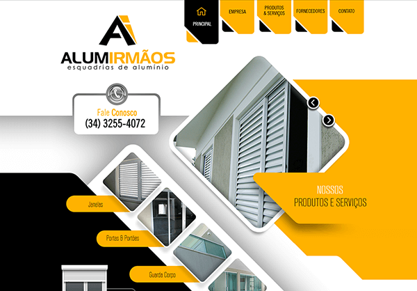 Website Alumirmãos