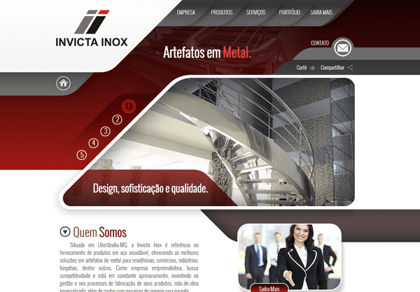 Website Invicta Inox