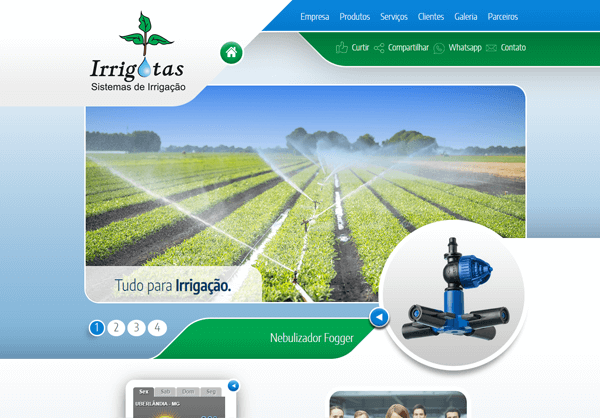 Website Irrigotas