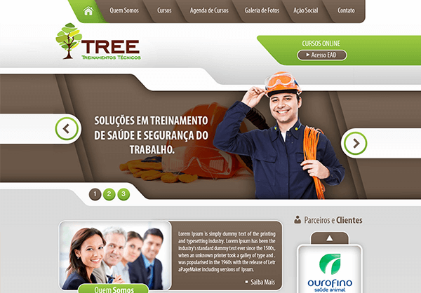 Website Tree Cursos