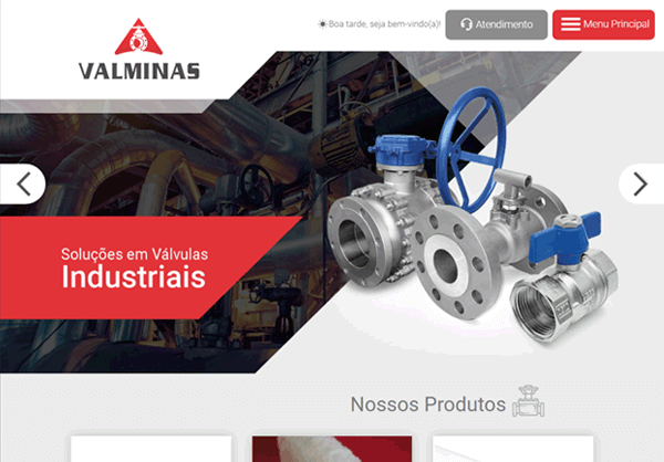 Website Valminas